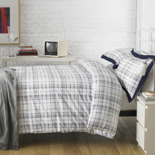 Duvet Cover,  Double, Langley Blue