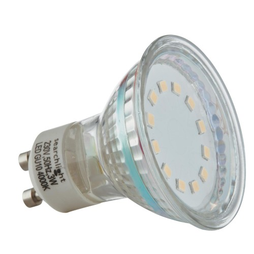 3w Led Gu10 Bulb 240 Lumens, Cool White