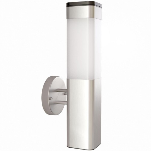 The Solar Centre Kodiak Wall Light, Silver