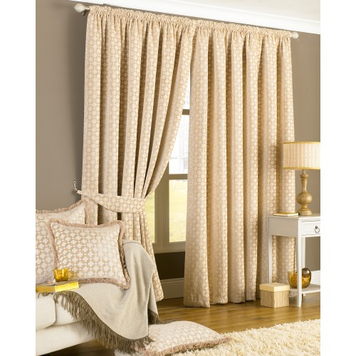 Belmont Ready Made Curtains, Beige