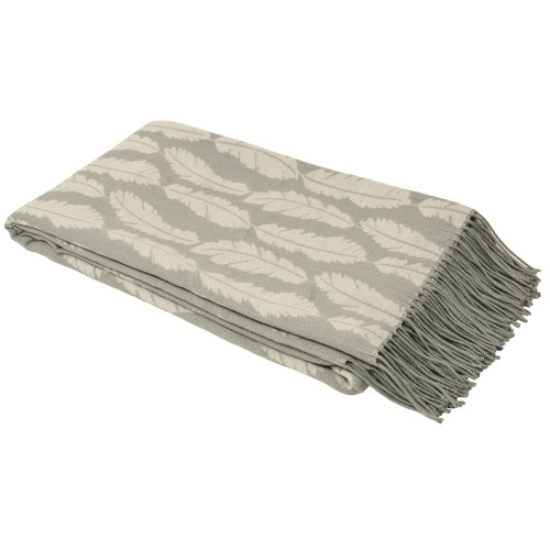 Riva Paoletti Plume Throw, Silver