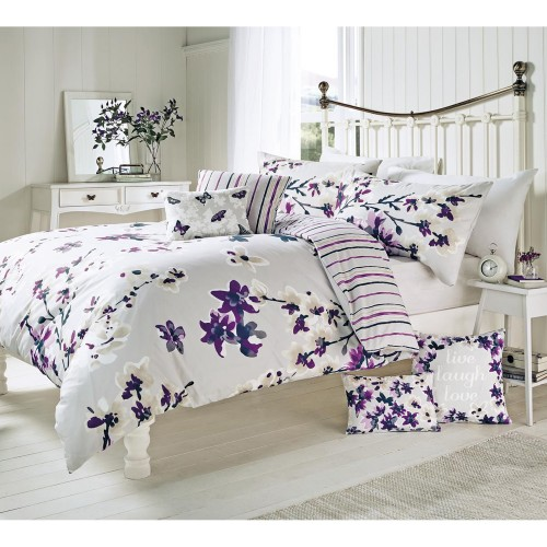 Rosenthal Sakura Duvet Set Single, Mauve