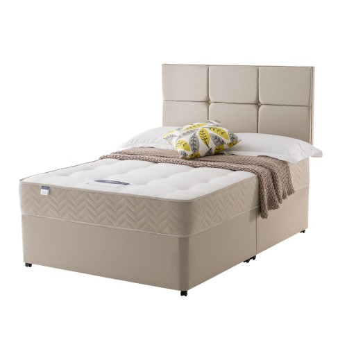 Silentnight Vegas Platform Top Divan Set Single