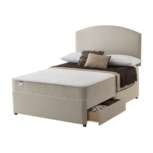 Silentnight Vienna Platform Top 2 Drawer Set Kingsize