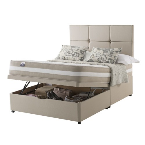 Silentnight Georgia Platform Top Ottoman Divan Superking
