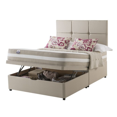 Silentnight Naples Platform Top Ottoman Divan Double