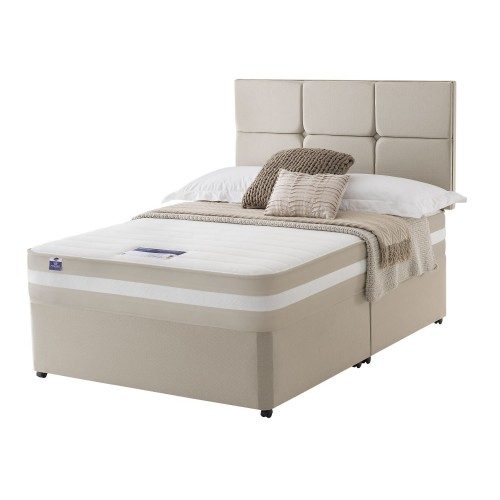 Silentnight Bari Platform Top Divan Set Superking