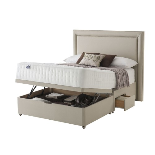 Silentnight Tuille Platform Top 2 Continental Drawer Ottoman Divan Set Double