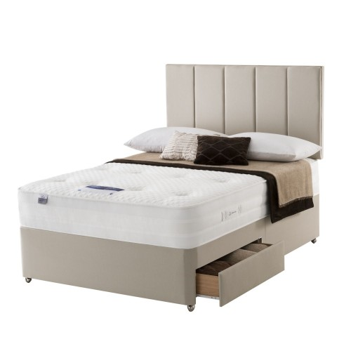 Silentnight Beatrix Platform Top 2 Drawer Set Superking