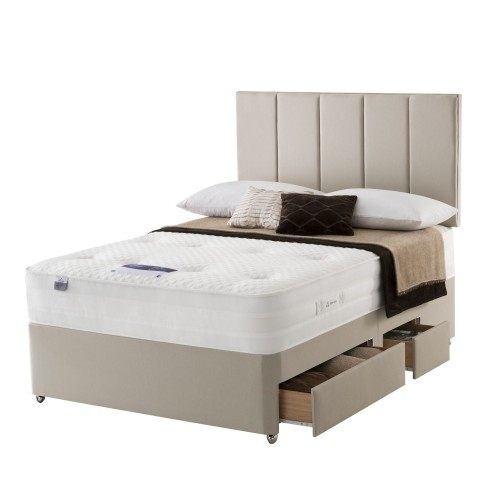 Silentnight Beatrix Platform Top 2+2 Drawer Set Superking