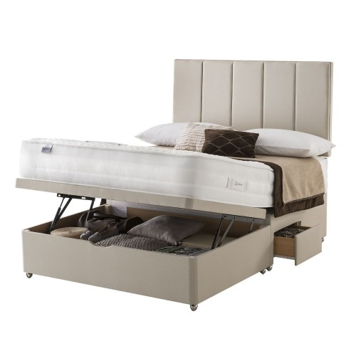 Silentnight Beatrix Platform Top 2 x Continental Drawer Ottoman Double