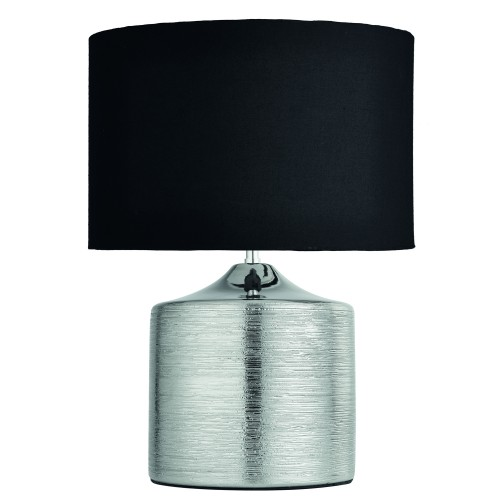 Casa Chiara Table Lamp, Silver