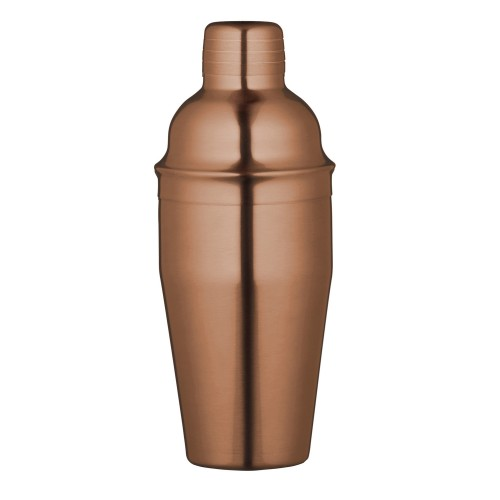 Luxe Lounge Copper Finish Cocktail Shaker, 500ml