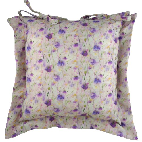 Sue Fenlon Deep Purple Seat Cushion