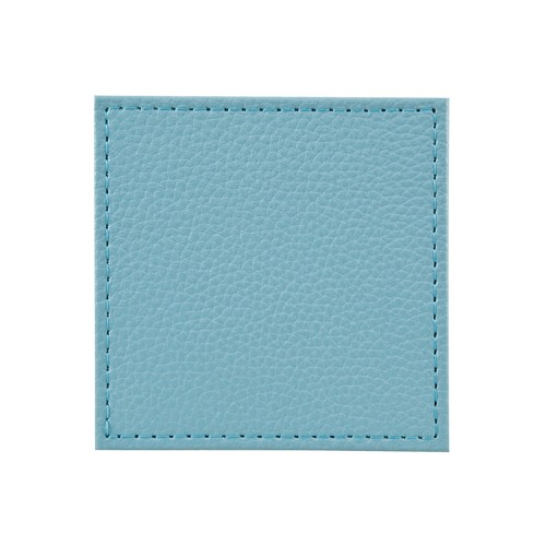 Denby Turquoise Faux Leather Coasters