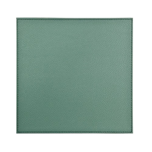 Denby Sage Green Faux Leather Placemats