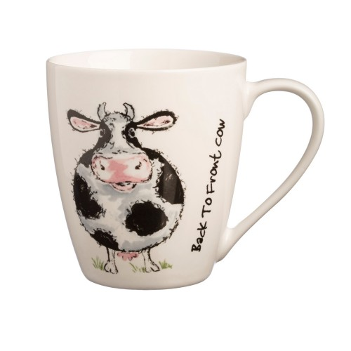 Price And Kensington Back To Front Cow China Mug