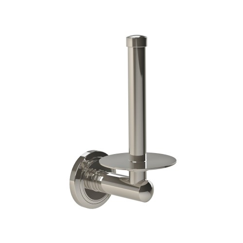 Miller Oslo Spare Roll Holder, Polished Nickel