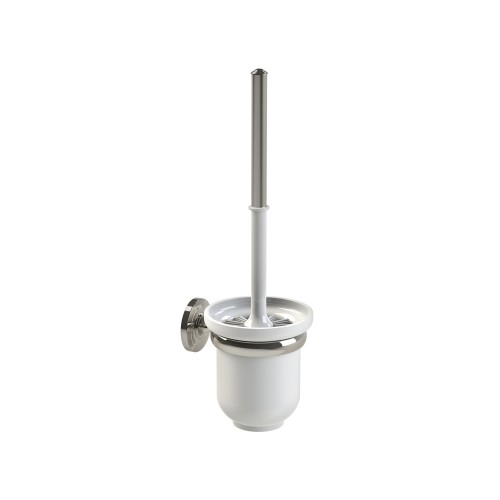 Miller Oslo Toilet Brush Set, Polished Nickel