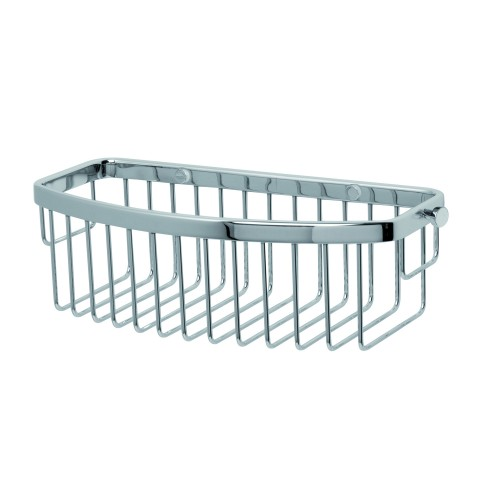 Miller n D Shaped Basket Chrome, Chrome