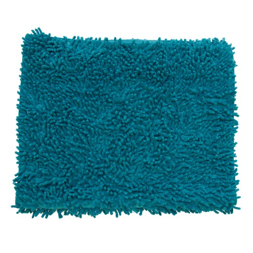 Casa Cotton Loop Bath Mat, Petrol Blue