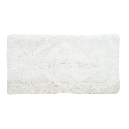 Casa Lexington Bath Mat, Cream