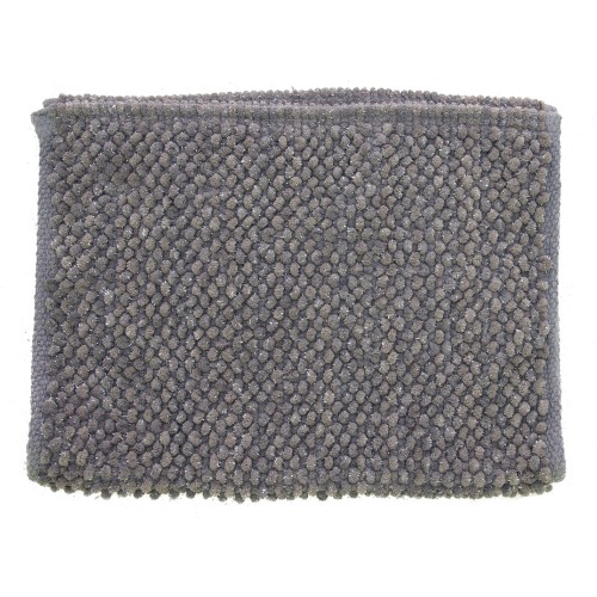 Casa Micro Lurex Sparkle Bath Mat, Grey/ Silver
