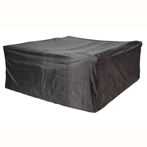Casa Garden Set Aerocover Oblong, Anthracite