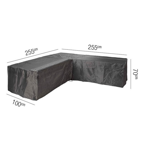 Casa Lounge Set Aerocover L-shape, Anthracite