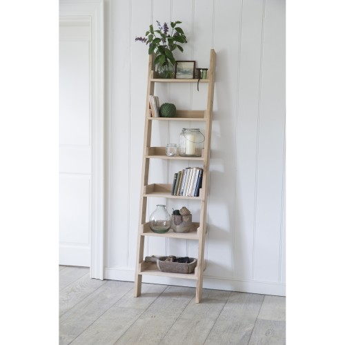 Garden Trading Oak Shelf Ladder, Oak