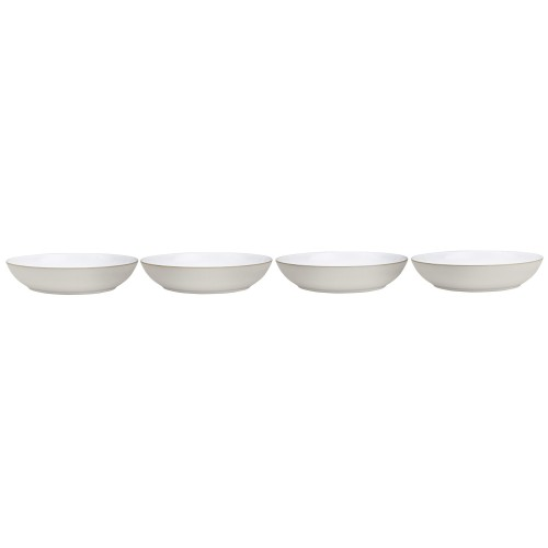 Denby Natural Canvas 4 Piece Pasta Bowl Set