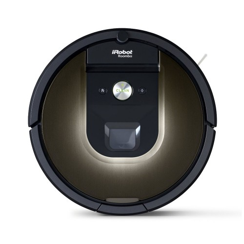 I Robot Roomba 980 Vacuum Cleaner, Black / Brown