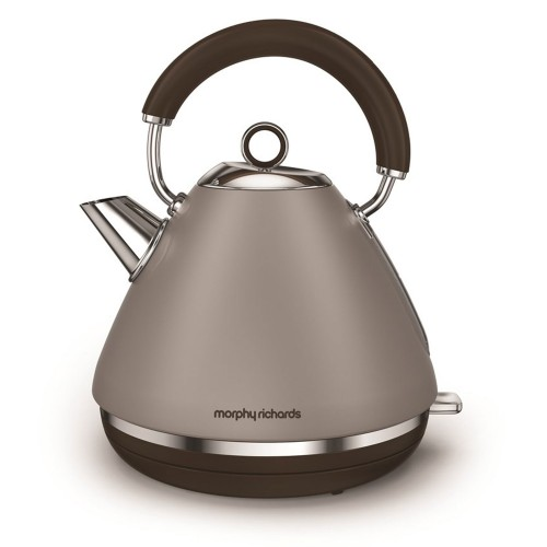 Morphy Richards Pyramid Premium Kettle , Pebble
