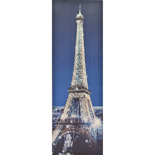 Casa Eiffel Tower With Diamantes, Silver