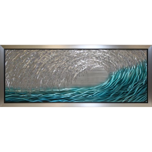 Complete Colour Ocean Wave Liquid Art, Multi