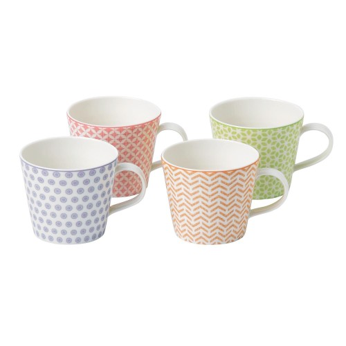 Royal Doulton Set Of 4 Mugs, 0.45ltr