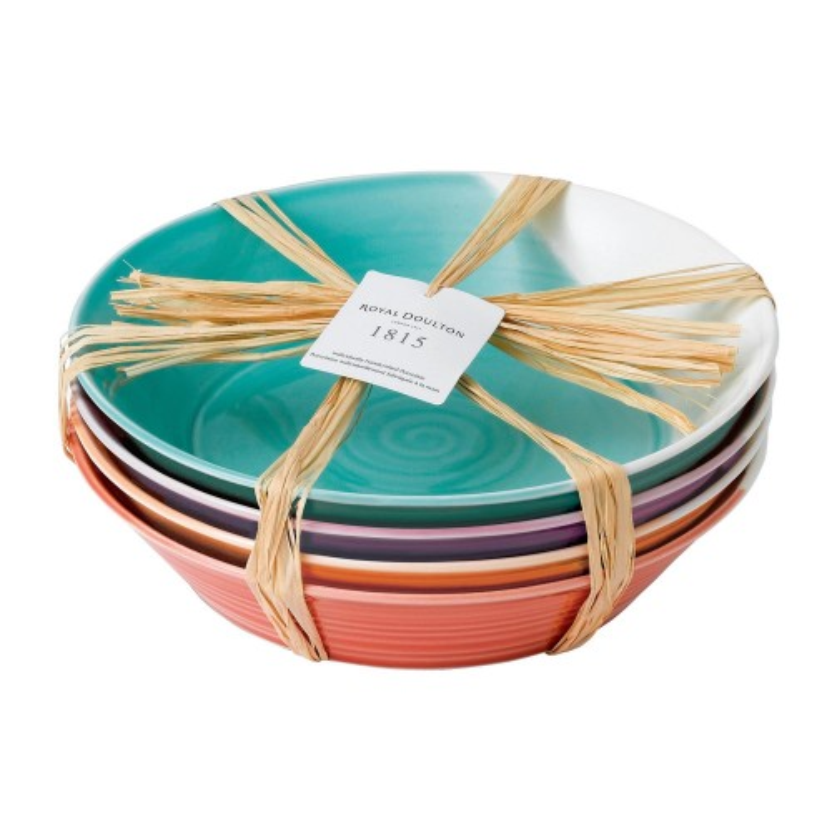 Royal Doulton Set Of 4 Pasta Bowls, 22cm