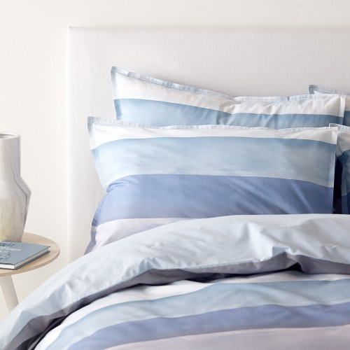 Jigsaw Waterstripe Duvet Cover King, Multi