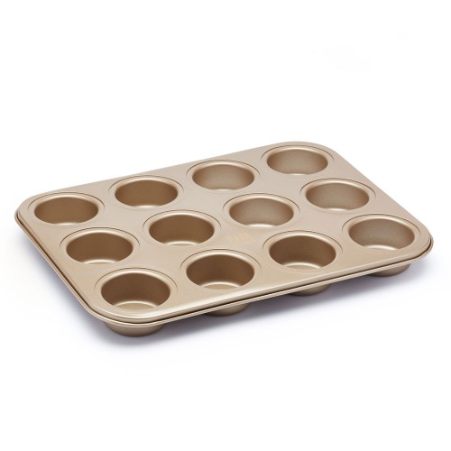 Kitchencraft Paul Hollywood 12 Hole Mini Sandwhich Tin Non stick