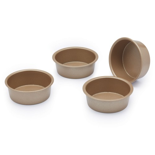 Kitchencraft Paul Hollywood Mini Baking Pan Non stick Set Of 4