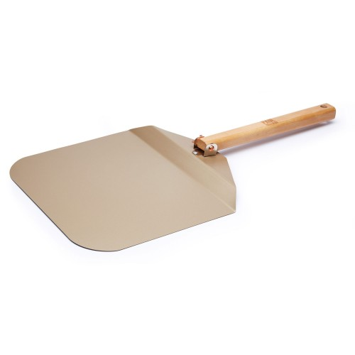 Kitchencraft Paul Hollywood Pizza Handle Peel Non stick, Brown