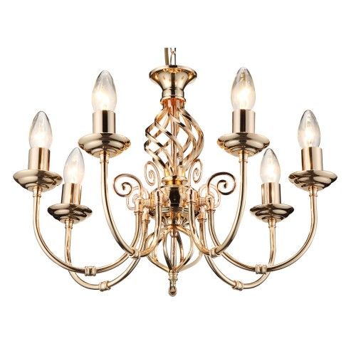 Casa Provence 7 Light, French Gold