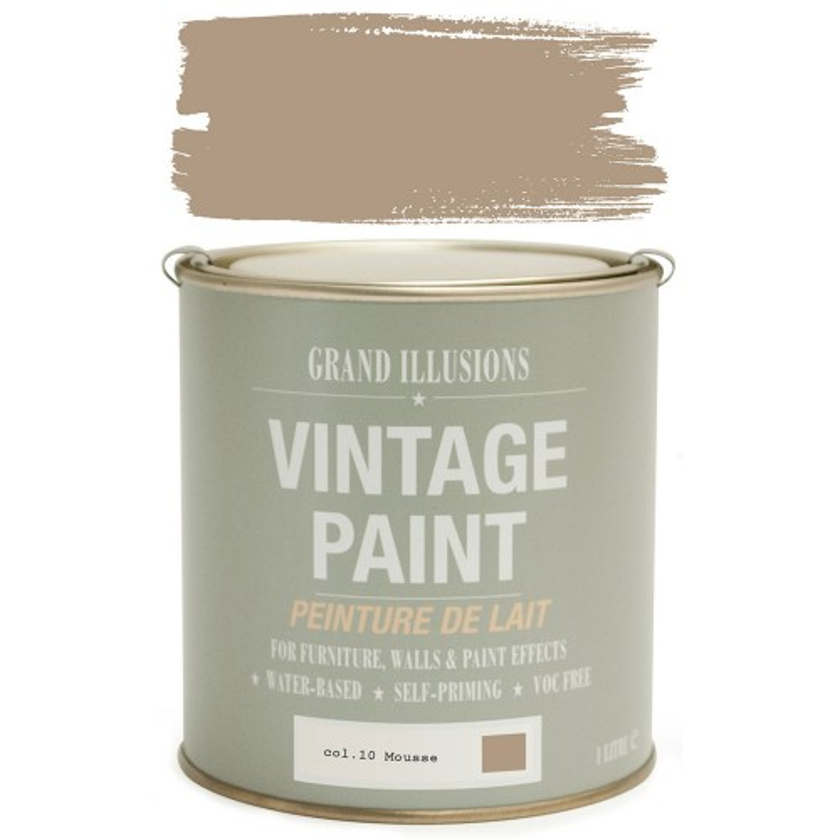 Vintage Paint 1 Litre, Mousse