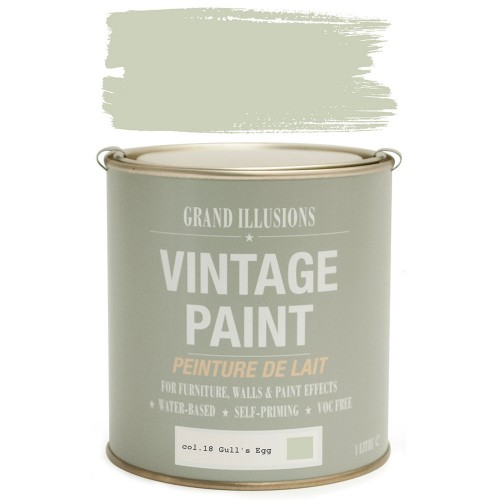 Vintage Paint 1 Litre, Gull's Egg