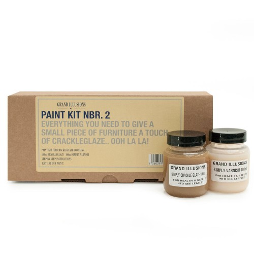 Vintage Paint Paint Kit 2, Crackleglaze