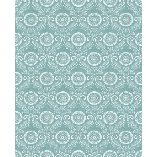 Fine Decor Mirabelle Jubilee Wallpaper, Blue