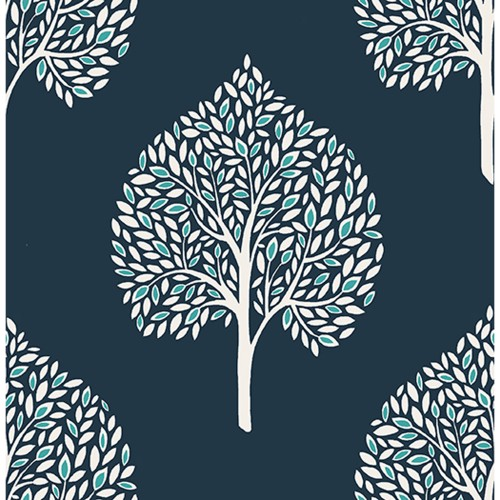 Fine Decor Mirabelle Grove Wallpaper, Navy