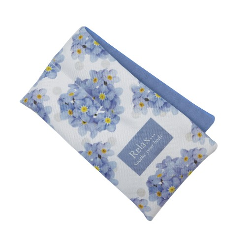 Aroma Home Floral Fragranced Body Wrap, Blue