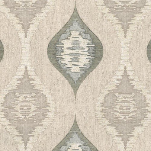 Belgravia Geometric Charcoal Wallpaper, Charcoal/natural