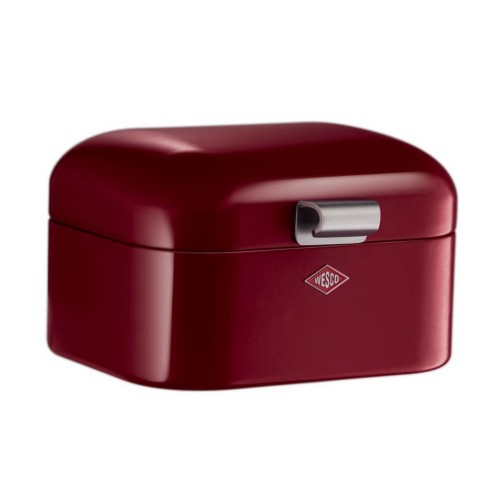 Wesco Mini Grandy Bread Bin, Ruby Red